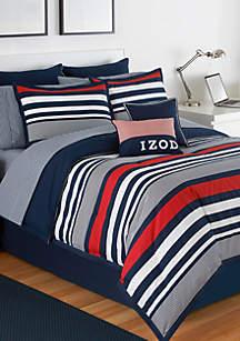 Varsity Stripe Twin Comforter Set