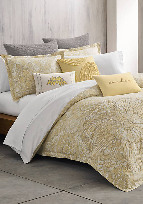 Paramour Yellow Twin Comforter Set 68-in. x 90-in.