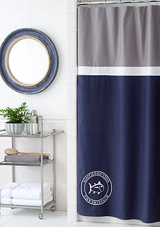 Southern Tide® Starboard Shower Curtain