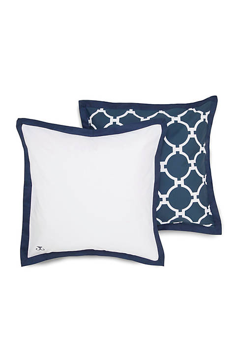 Hampton Link Navy Euro Sham 26-in. x 26-in.