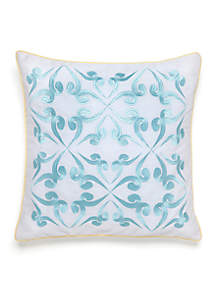 Southern Tide® Savannah Embroidered Pillow 16-in X 16-in.