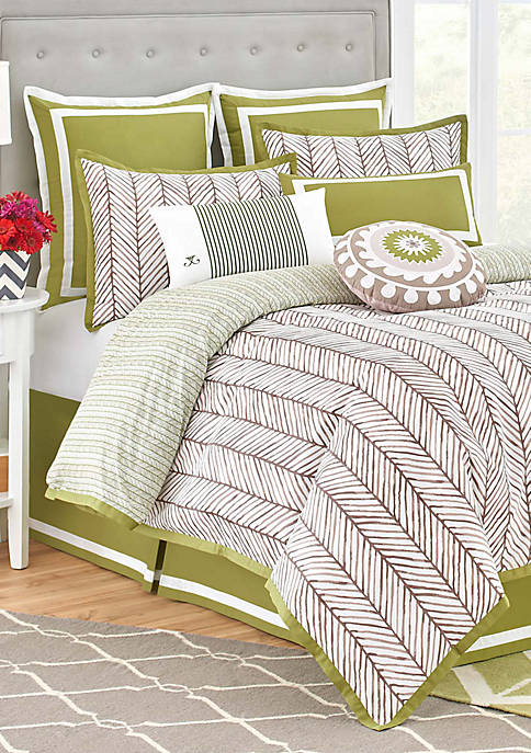 Jill Rosenwald Arrows California King Bedding Collection 110-in.