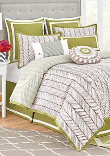 Jill Rosenwald Jill Rosenwald Arrows California King Bedding Collection 110-in. x 96-in.