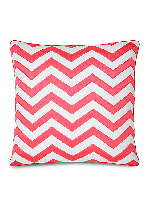 Multi Patch Pink Decorative Pillow 18-in. x 18-in.