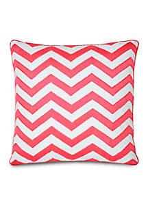 Jill Rosenwald Multi Patch Pink Decorative Pillow 18-in. x 18-in.