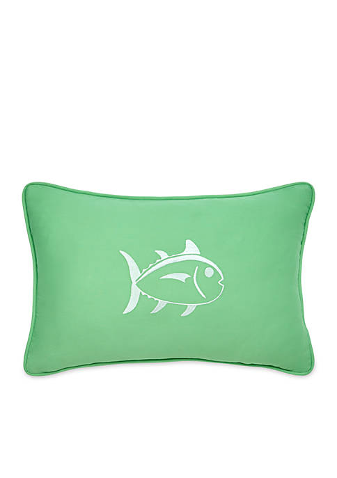Southern Tide® Skipjack Embroidered Decorative Pillow