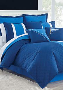 Yacht Club Twin Reversible Comforter 3-Piece Set