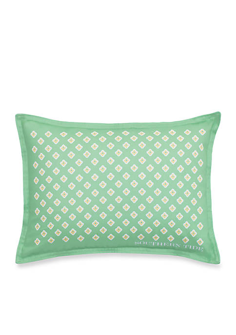 Printed Foulard Decorative Pillow