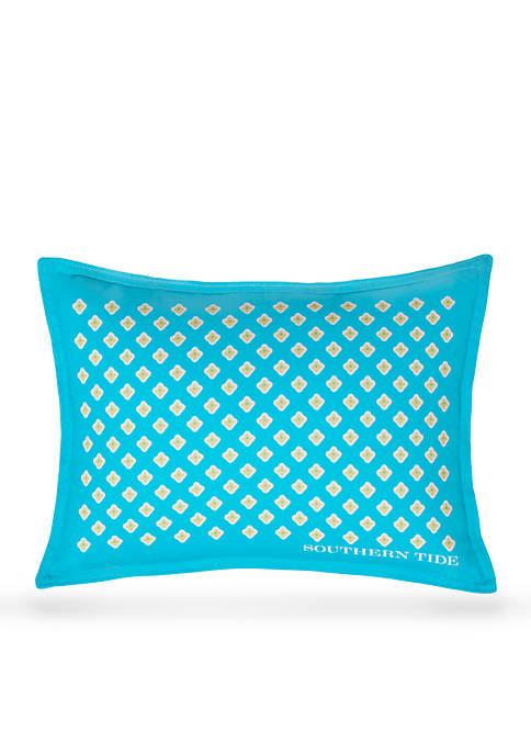 Southern Tide® Printed Foulard Decorative Pillow