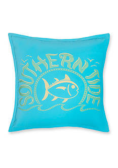 Southern Tide® Skipjack Chino Swimming Skipjack Decorative Pillow