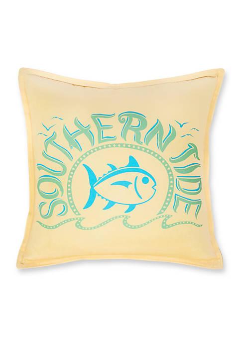 Southern Tide® Skipjack Chino Decorative Pillow