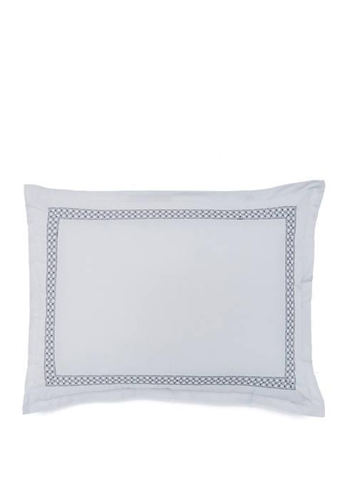 FlatIron Gramercy Embroidered Quiet Standard Sham
