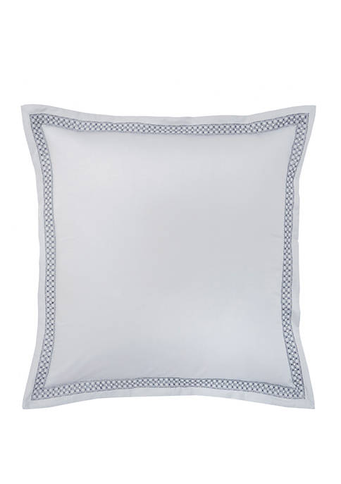 FlatIron Gramercy Embroidered Quiet European Sham