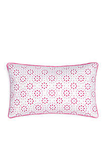 Southern Tide® Long Bay Geo Eyelet Decorative Pillow