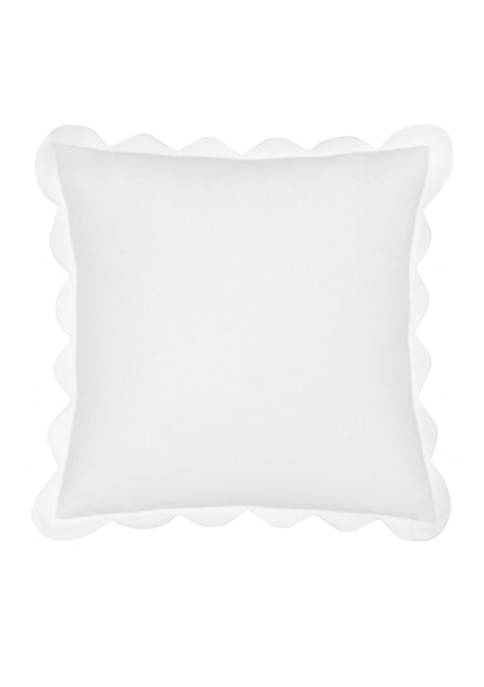 Southern Tide® Summerville Scalloped Decorative Pillow