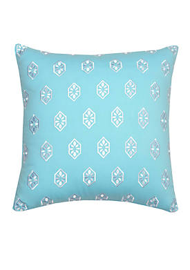Summerville Embroidered Decorative Pillow