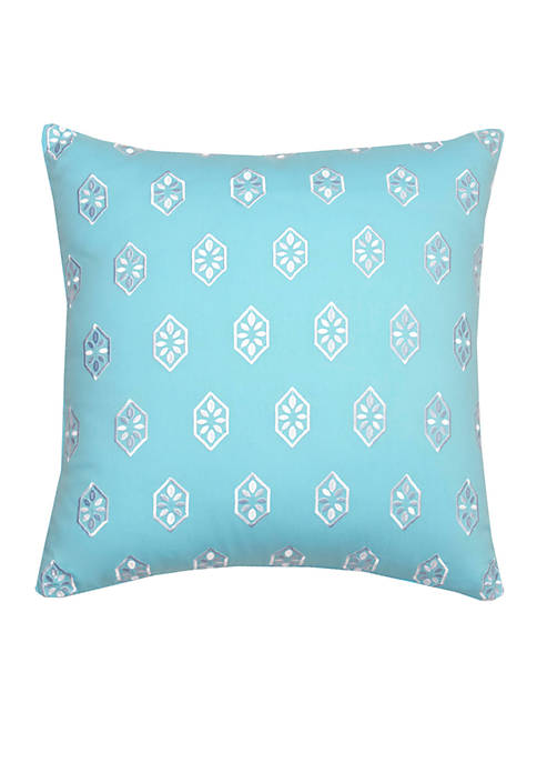 Southern Tide® Summerville Embroidered Decorative Pillow