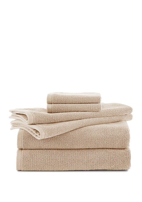 EcoPure Serene 6-Piece Towel Set