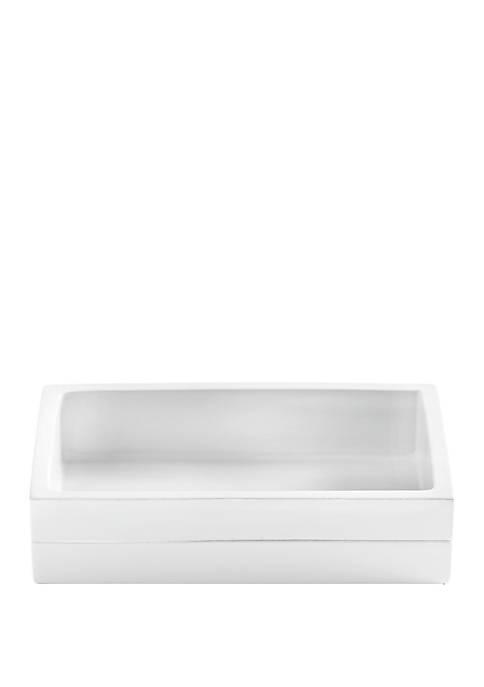 Cassadecor Lacquer Stripe Bath Accessories Soap Dish