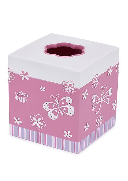 Cassadecor Mariposa Bath Accessories Tissue Holder