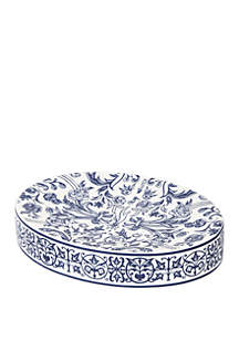 Cassadecor Damask Bath Accessories Soap Dish