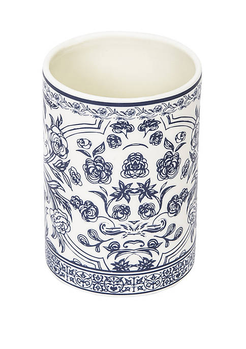 Damask Bath Accessories Tumbler