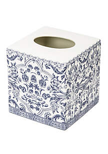 Cassadecor Damask Bath Accessories Tissue Holder