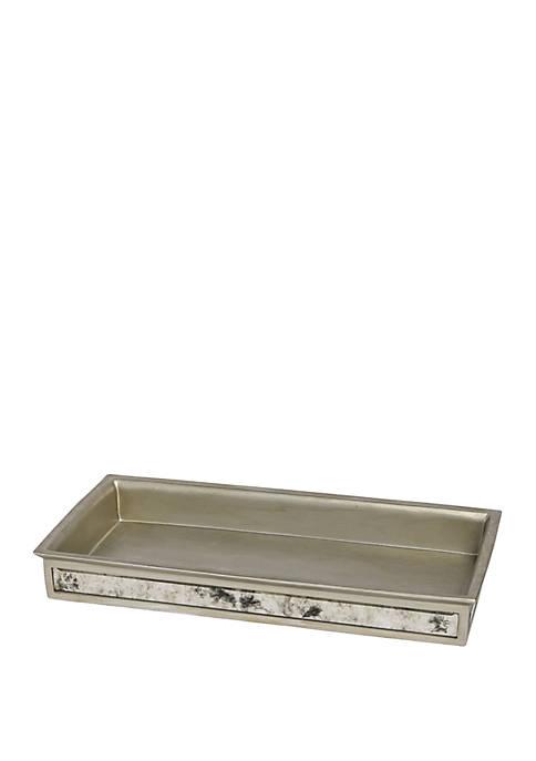 Vintage Bath Accessories Tray