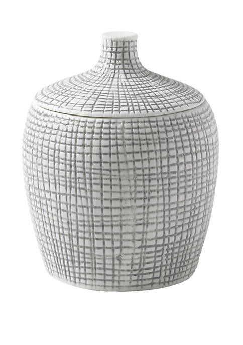 Cassadecor Cestino Bath Accessories Cotton Jar