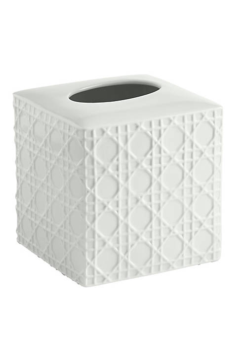 Cassadecor Wicker Bath Accessories Tissue Holder
