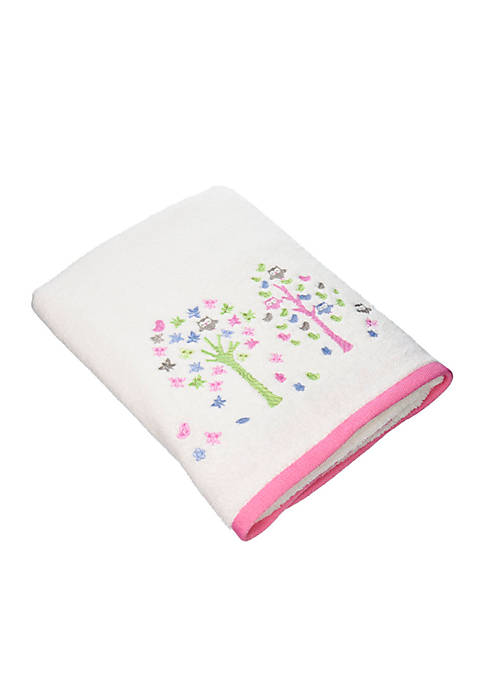 Kassatex Bamini Merry Meadow Embroidered Hand Towel