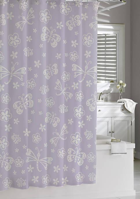 Cassadecor Mariposa Shower Curtain