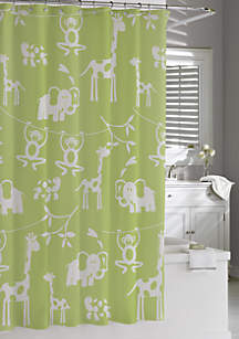 Cassadecor Zoo Shower Curtain