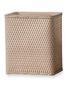 Carter Rectangular Wastebasket 10.5-in. x 7.5-in. x 12-in.