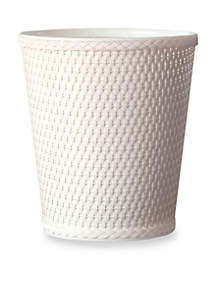 Lamont Home® Carter Round Wastebasket 10-in x 11.5-in.