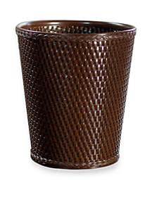 Carter Round Wastebasket 10-in x 11.5-in.
