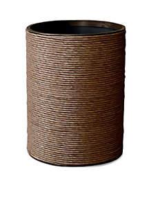 Hand Spun Wastebasket