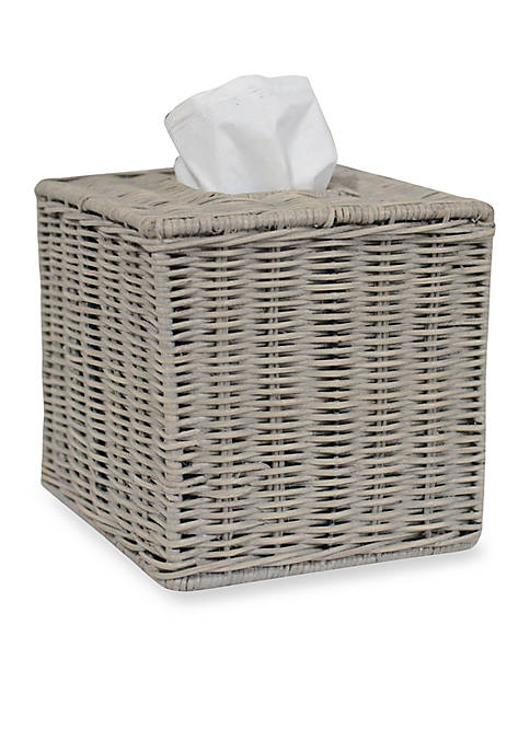 Lamont Home® Amerst Tissue Box 6.75-in. x 6.75-in.