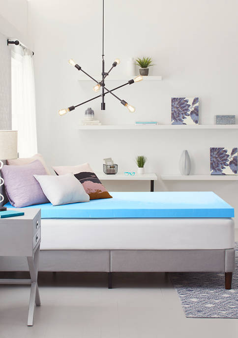 Comfort Revolution 3-Inch Gel-Infused Memory Foam Topper