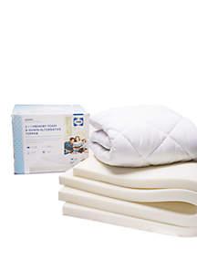 Sealy® 3 in Foam and Fiber Topper