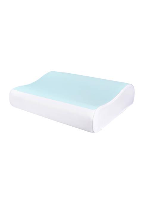 Comfort Revolution Contour Bubble Gel Memory Foam Pillow