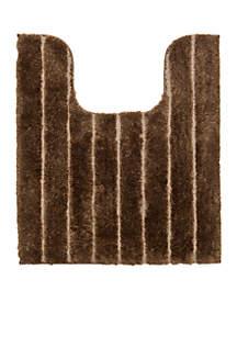 Signature Stripe Contour Bath Rug 20-in. x 24-in.