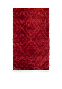 Signature Fashion Tufted Cut and Loop Bath Rug 24-in. x 40-in.