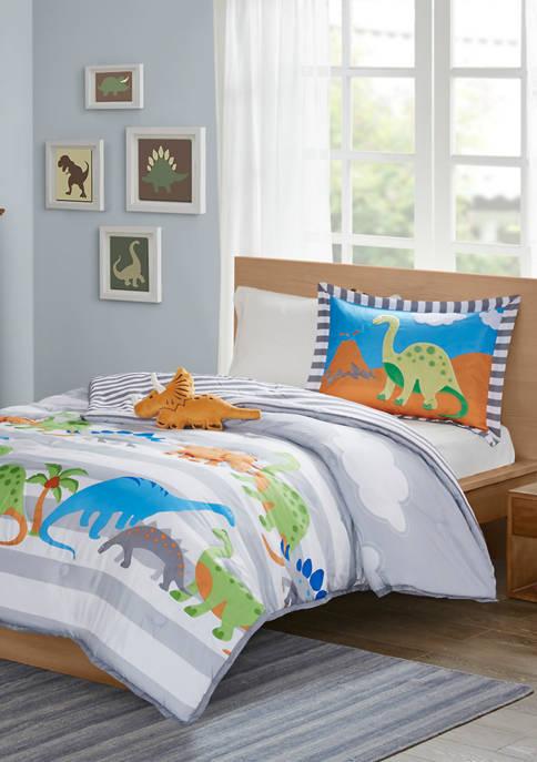 JLA Home Dinosaur Dreams Comforter Set