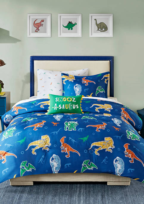 JLA Home Logan Robot Dinosaur Complete Bed and
