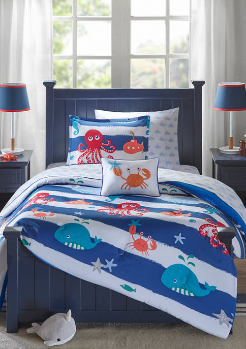 JLA Home Sealife Complete Bed and Sheet Set