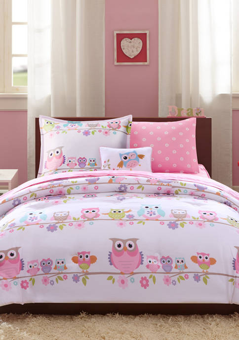 JLA Home Wise Wendy Owl Complete Bed and