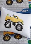 Nash Monster Truck Reversible Coverlet Set
