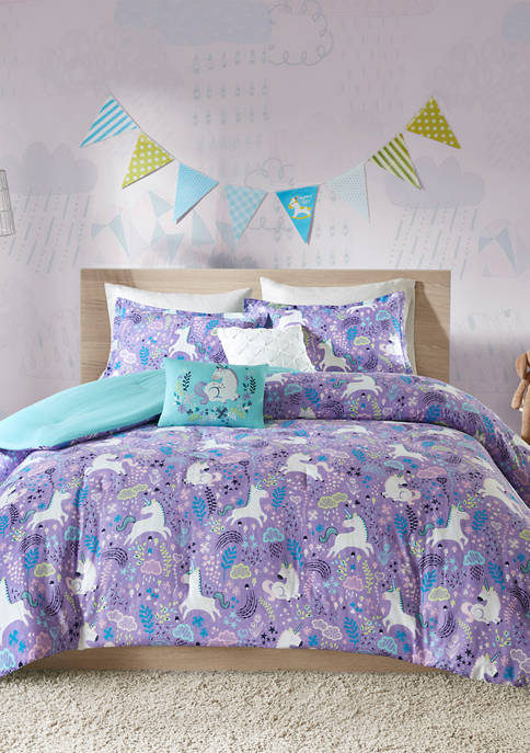 Lola Unicorn Comforter Set