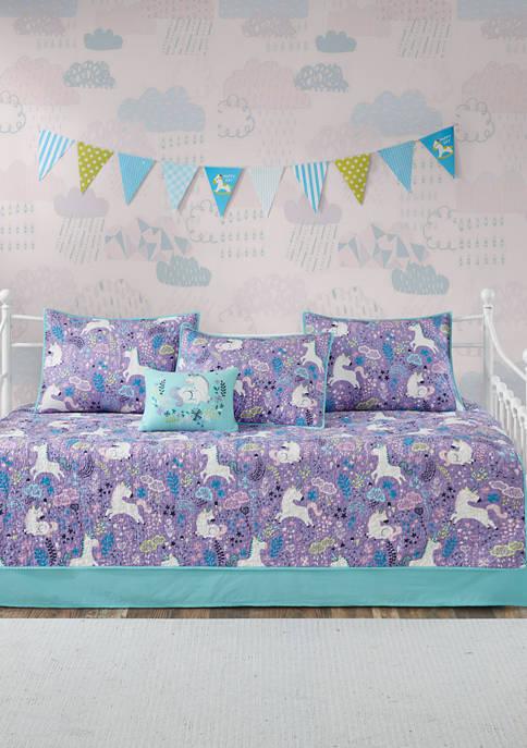 Lola Unicorn Reversible Daybed Set